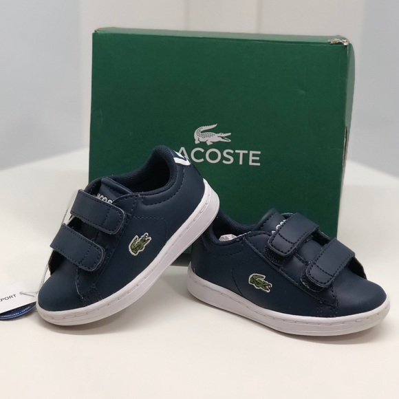 Lacoste Shoes | Toddler Boy Navy Blue Sneakers | Poshmark